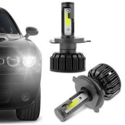 Lâmpada Super LED Xênon Turbo 6000K - H1,H3,H4,H7,H8,H11,H16,H27,HB4 comprar usado  Curitiba