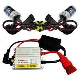 Usado, Kit Xenon Lampada 6000k 8000k 10000k 12000k H1 H3 H4 H7 comprar usado  Maringá