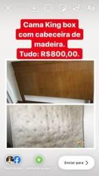 Cama Box com Cabeceira comprar usado  São Paulo