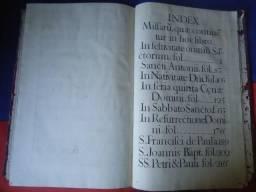 Missal Voctivo de 1769 escrito a mão