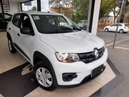 Renault - Kwid Zen 2019 Branco ( Nao aceitamos troca ) - 2019