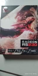 TROCO PLACA DE VIDEO AMD R5230 NOVA EM PLACA DE VIDEO DA NVIDIA EQUIVALENTE