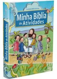Minha Bíblia De Atividades - Bíblia Para Crianças Histórias