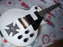 Guitarra Les Paul Vintage V100 Artic White