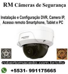 Técnico Câmeras de segurança, visita Tec. imediata, cftv BH MG
