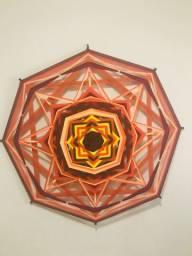 Mandalas de linha decoração de sala