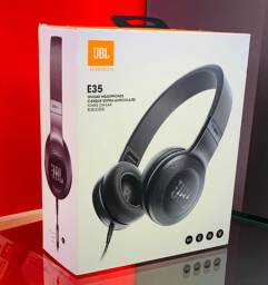 JBL E35 Headphones -Black - Produto Novo, Lacrado e com Garantia