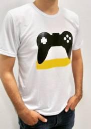 Camisetas em Poliéster adulto e infantil