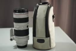 Lente Canon 70-200 2.8 com case Original