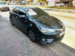 TOYOTA COROLLA XRS 2.0 FLEX 2018 COMPLETO AUTOMÁTICO + COURO MUITO NOVO