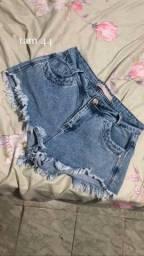 Título do anúncio: shorts jeans e saia