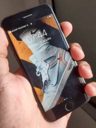 iPhone 7 128GB e prata escamada 50 grama