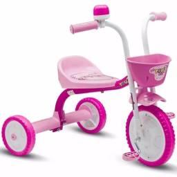 Triciclo Infantil You Girl Rosa - Nathor