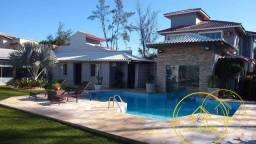 Título do anúncio: Belíssima casa com 6 dormitórios, hidromassagem, sauna, quadra de vôlei, lado praia à vend