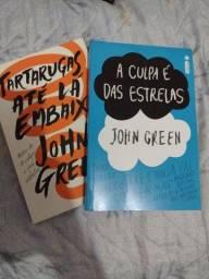 Título do anúncio: Dois livros do John Green por 20,00