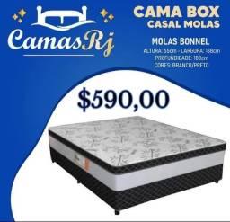 Título do anúncio: CAMA CASAL MOLAS BONNEL