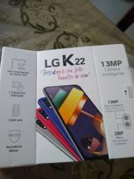 LG K22 32GB Novo