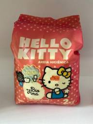 Título do anúncio: Areia higiênica Hello Kitty