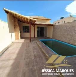 Título do anúncio: Casa com 2 quartos com piscina e área gourmet em Unamar, Tamoios - Cabo Frio - RJ