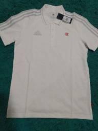 Título do anúncio: Camisa do Flamengo Polo Casual Branca