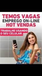Título do anúncio: Procuro vendedor(a) on-line!