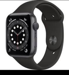 Apple Watch 6 44mm cor PRETO.