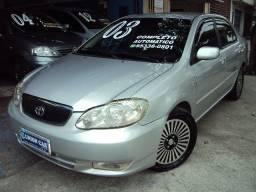 Título do anúncio: Toyota Corolla Seg 1.8 VVTI 2003 Automatico > Completissimo > Impecavel..!