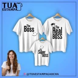 Título do anúncio: Camisetas Personalizadas Kit Família
