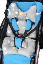 Título do anúncio: Almofada Redutora Para Carrinho Bebe Conforto Suporte Apoio