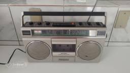 Título do anúncio: Rádio AM/FM/Toca Fitas Panasonic Raridade