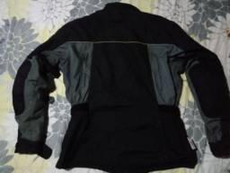 Jaqueta e a calça moto