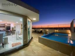 Cobertura com piscina no Centro Ed. Las Brisas