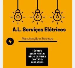 Título do anúncio: Eletricista oficial.
