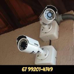 Título do anúncio: Kit 4 câmeras Citrox PPA Full HD Dvr 4 canais