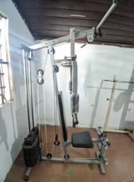 Estação musculação Kiko