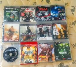 16 jogos ps3 playstation 3 lote venda revenda