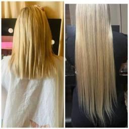 Título do anúncio: Faço aplicação de Mega hair