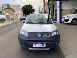 Título do anúncio: Fiat Uno way 1.0 flex 2014 branco completo