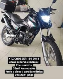 Título do anúncio: XTZ 150 CROSSER 2018