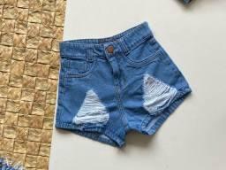Shorts lindos (NOVO)