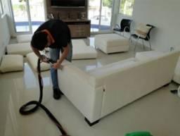 Título do anúncio: Limpeza de estofados 2 módulos aparti de R$100,00