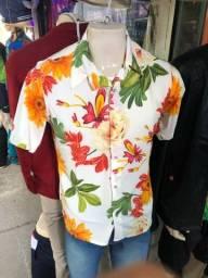 Título do anúncio: Camisa de botão estampada de verão 2021/2022