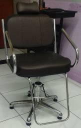 2 cadeira para salão, cadeira de espera 4 lugares, balcão