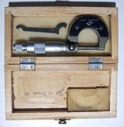 Micrômetro - micrometer Polegadadas.