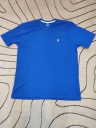 Título do anúncio: Camiseta polo RL azul GG