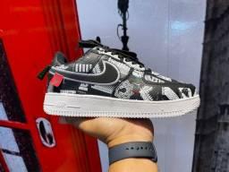 Título do anúncio: Tênis Nike Air Force One Couro Design (L.A)