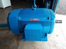 Motor elétrico weg 100cv 1700rpm 220/380