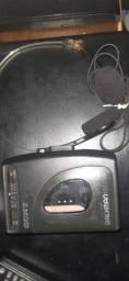 Walkman Sony original com o fone original vintage colecionáveis