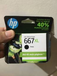 Título do anúncio: Cartucho HP 667XL