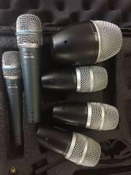 Kit Microfone Shure ORIGINAL (Não Aceito Trocas)